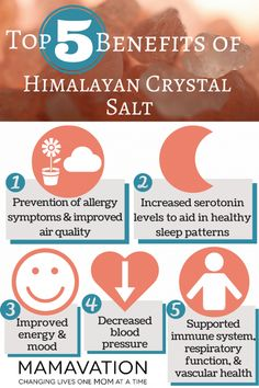 TOP 5 BENEFITS OF HIMALAYAN CRYSTAL SALT