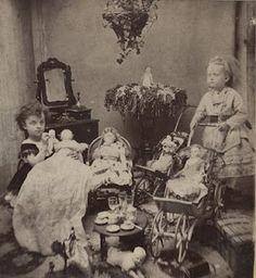 Great antique photo circa 1890 - 1910.