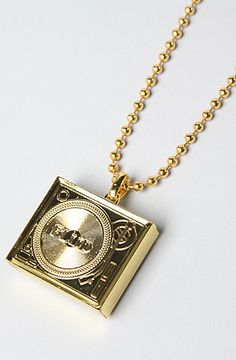 The Tableturns Necklace in Gold by Flud Watches