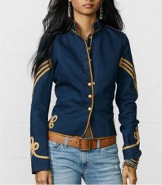 NWT-Denim-and-Supply-Ralph-Lauren-Cavalry-Jacket-Size-S