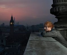 Ed: what a great shot. Our well loved British ginger!