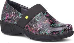 361795c7a13d38 Work Wonders by Dansko Women s Camellia Multi Leopard Patent Clog Mule