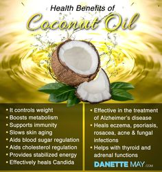 Coconut oil is such a gift from mother nature!