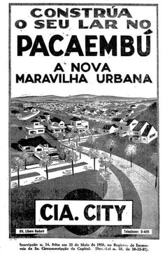 1938 - Cia City no Pacaembu.