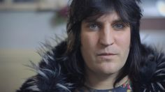 Noel Fielding's self-portrait: 'I'm a pointy old witch' – video | Culture | The Guardian