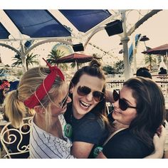 I took a pill in Ibiza...and then got Mexican food at 1am || Take me back to laughing uncontrollably in some of my favorite places with a couple of my favorite ladies #wcw - - - #covebar #lobbynach #candid #laughs #disneyland60 #disneycaliforniaadventure #cadreamin #california #girls #celebrating by kcoopz