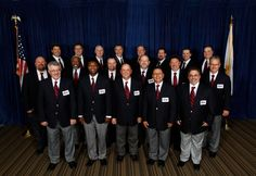 Penske Logistics Truck Driver Neil Kirk (front row, last on right) was named a captain of the American Trucking Associations America's Road Team. Join Penske Logistics for a great trucking career! Global Supply Chain, Used Trucks, Career Opportunities, Front Row, North America, Safety, Join, Names, American