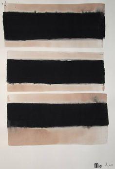 """Saatchi Art Artist Michael Lentz; Drawing, """"SGRAFFITO No. 372, 100x70 cm,"""" #art"""