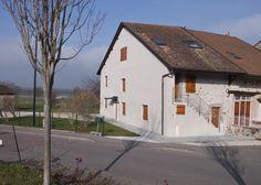 Reconversión de granja en casa de campo, Douvaine, Francia - FRAR