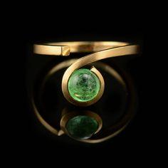 The Twist ring. McCaul Goldsmiths.