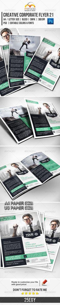 Creative Corporate Flyer 21