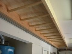 Monkey bars in the basement! Reminiscent of younger years and a kickass arm work out for the present years.