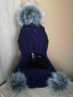Pavlak / modra supravička Winter Hats, High Neck Dress, Boots, Dresses, Fashion, Turtleneck Dress, Crotch Boots, Vestidos, Moda