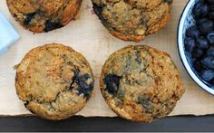 Gluten-Free Vegan Blueberry Banana Muffins (from Berrylicious!)