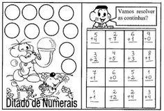 POR  AMOR: Atividades de Matemática com adição e subtração pa...