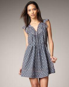 rebecca taylor bluebell dress a  Leslie kind of dress