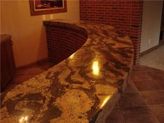 Concrete Bar Top- my honey can do this and much more!!!