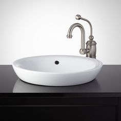 Milforde Semi-Recessed Sink - Bathroom