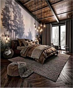 For those looking to make their bedroom look good, adopting a modern bedroom design style isn't actually a bad idea. Here are some easy ways you can redo your bedroom Design bedroom Easy Ways To Remodel A Modern Bedroom + 50 HD Pictures - House Topics Design Living Room, Modern Bedroom Design, Home Interior Design, Bedroom Designs, Modern Bedrooms, Interior Modern, Dark Bedrooms, Modern Room, Modern Decor