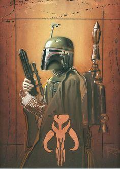 Star Wars: Boba Fett by Brian Rood