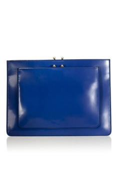 From Shop My Style: Taylor Tomasi Hill · F/W 2012 - Marni: Ink Calfskin Envelope Clutch
