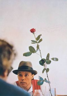 Joseph Beuys, We Can't Do it without the Rose 1972