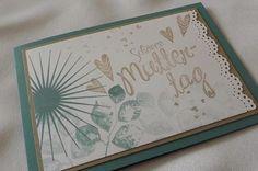 Muttertagskarte von Liebe Grüsse auf DaWanda.com
