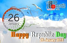 26 January 2015. The #Republic #Day is celebrated in India on #26 #January every year. The day marks the sovereignty of the country, as on this day in 1950 the Constitution of India was adopted. #Happy #Republic #Day. http://radiotherapy.in/