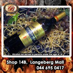 Do you enjoy a glass of wine? Cattle Baron Mossel Bay has a wonderful selection of house wines that may be ordered during your meal. Try the Drosty-Hof Adelprach this afternoon with your Buffet lunch. Alcohol not served to persons under Lunch Buffet, Baron, Cattle, Wine Rack, Wines, Alcohol, Meal, Glass, House