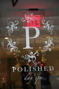 salon and day spa love this name and design - Nail Salon Logo Design Ideas