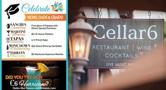 Cellar 6 Restaurant and Bar in Downtown St. Augustine, Florida