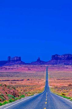 Highway 163 Monument Valley Utah / Arizona