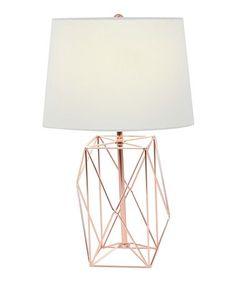 Look at this #zulilyfind! Wire Table Lamp #zulilyfinds