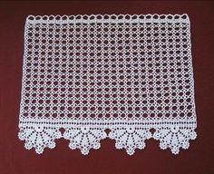 | OK.RU Filet Crochet, Crochet Mat, Crochet Diagram, Crochet Home, Crochet Stitches, Crochet Patterns, Crochet Curtain Pattern, Crochet Curtains, Diy Crafts Knitting