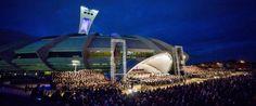 OSM STADE OLYMPIQUE - Carmina Burana  14 août 2014 _ 1500 choristes et 40,000 spectateurs Participation du Choeur Symphonique de Sherbrooke, j'y étais...