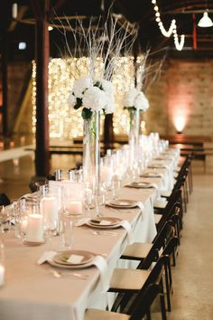 tall centerpiece with birch branches... Blog — STEMS – Austin Florist | Austin Wedding Florist | Austin Event Florist