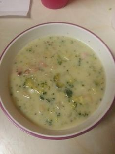 Homemade Cream Of Broccoli Soup Recipe
