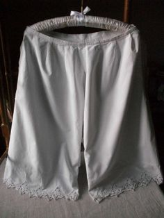 Antique French Knickers Bloomers Split Legs by Vintagemaison, £25.00
