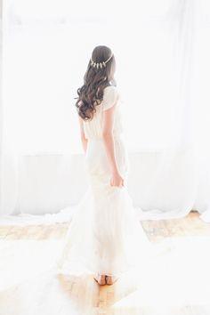 Sweet dress via The Block. – photo by http://blushweddingphotography.com/