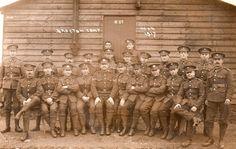 More Soldiers - Leicestershire Regiment Soldiers in the Great War WW1TIGERS at Brocton Camp