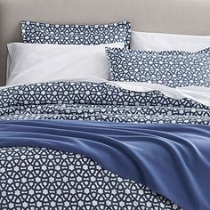 Union Square Duvet Cover and Pillow Shams | Crate and Barrel