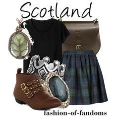 """Scotland"" by fofandoms on Polyvore"