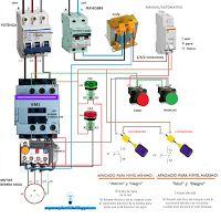 Esquemas eléctricos: Esquema eléctrico motor bomba