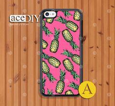 Pineapple iPhone 5c case, Phone cases, iPhone 5c case, Case For iPhone, Skins, Cover Skin --C50363