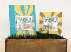 These projects made with the new Sunshine Clear-Mount Stamp are fantastic!