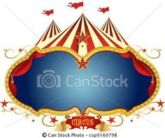 Vector - Sign circus - stock illustration, royalty free illustrations, stock clip art icon, stock clipart icons, logo, line art, EPS picture, pictures, graphic, graphics, drawing, drawings, vector image, artwork, EPS vector art
