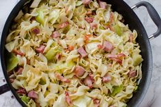 Cabbage & Noodles with Ham (Haluski) – My Incredible Recipes