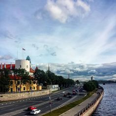 Driving through Riga is truly a pleasure to the eyes!
