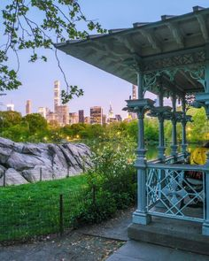 Central Park View of the new york city lights from the gazebo. From The Ground Up, Meet The Artist, City Lights, Buy Frames, Central Park, New York City, Gazebo, Gallery Wall, Art Prints