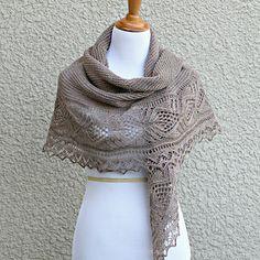 Freesia shawl pattern